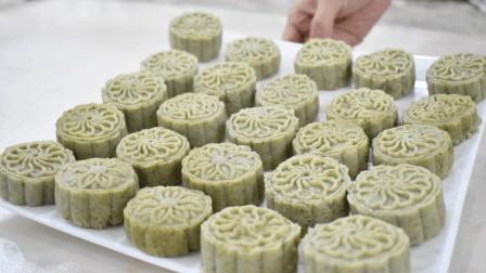 这才是绿豆糕最简单的做法, 口感细腻香甜, 还不放任何添加剂!