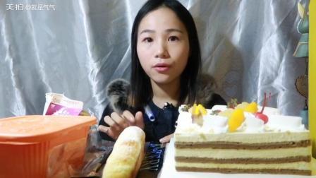(1)吃慕斯蛋糕/小火锅/芝士面包/碗托/脆虾/紫米红豆