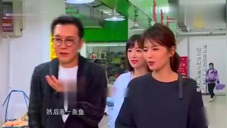 刘涛李咏菜市场买菜给奶奶做饭, 穿衣打扮亮眼, 群众都看呆了