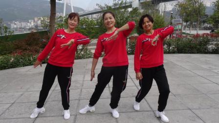 齐之韵快乐舞步健身操-第十四套-寇公广场健身早操队