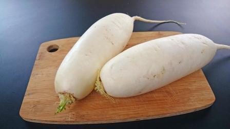 萝卜最过瘾吃法, 很多人吃过但不会做, 学会这个窍门, 好吃又脆爽