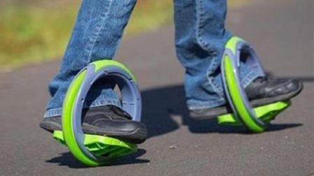"""小伙发明神奇""""风火轮"""", 不烧油不耗电还不占空间, 踩上就能跑"""