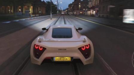《极限竞速: 地平线4》世界最快租用车: Zenvo ST1