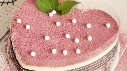慕斯蛋糕小吃甜点制作方法, 只要按照这视频就操作就可以