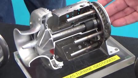 微型涡喷发动机开发模型讲解