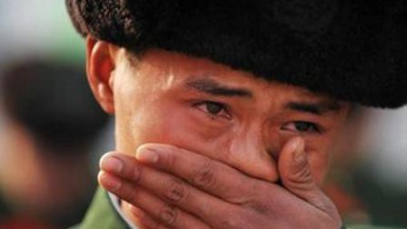退役时, 中国军人泣不成声, 外国军人怎么是这样的态度?