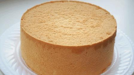 手把手教你戚风蛋糕的做法, 步骤详细, 方法简单, 不塌陷, 0失败