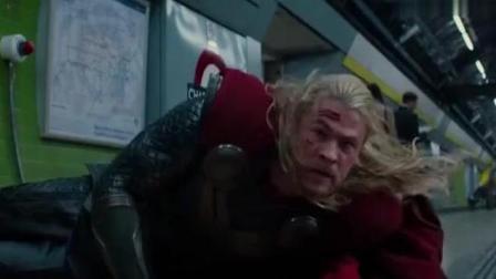 《雷神2》洛基太皮了, 被雷神救出, 变成美国队长逃出监狱!
