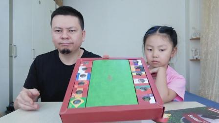 """试吃""""世界杯球队棒棒糖"""", 大神向桐桐解释了为什么没有中国队"""