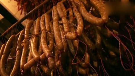 舌尖上的中国: 最悠久的腊肠的做法! 吃了一下, 我真服了!