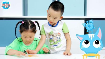 玩疯了方大手不吃鱼 30年教龄幼师教你带娃做冰棒棍拼图