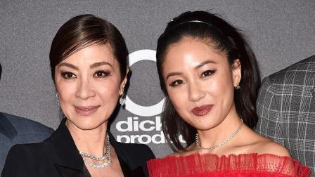 这就是娱乐圈 2018 众星亮相好莱坞电影奖,杨紫琼侠气安妮海瑟薇仙气足