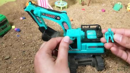 你认识这个挖掘机吗知道它叫什么吗, 快来看看吧