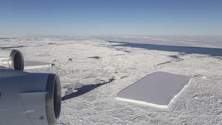 南极冰川断裂, 看起来就像人工切割! 这是怎么形成的?