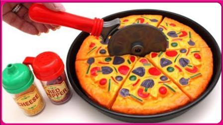 DIY手工制作披萨饼干! 小朋友们一起来吧。美味好看又好吃哦!