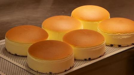 现场制作的瑞可爷爷芝士蛋糕, 嫩的像块豆腐 - 日本大阪