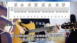 《曲谱》吉他弹唱《小情歌》示范教学 前奏挺好听的!