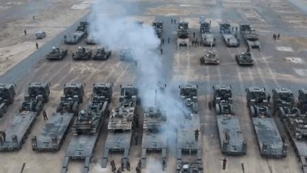 """冰与火之歌! 实拍装甲步兵顶风冒雪突击 昼夜对抗拿下""""敌方""""阵地"""