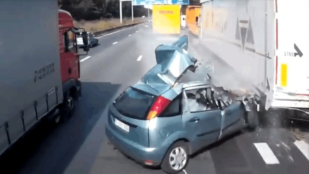 开车切勿贪快 否则就会像影片中一样遭到可怕后果