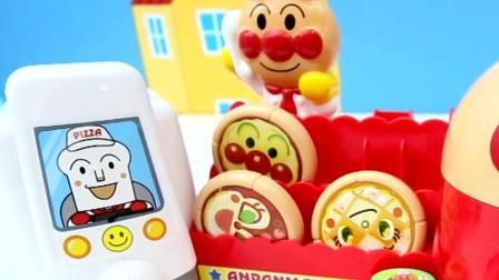 日本最新玩具面包超人披萨店 开始卖披萨喽