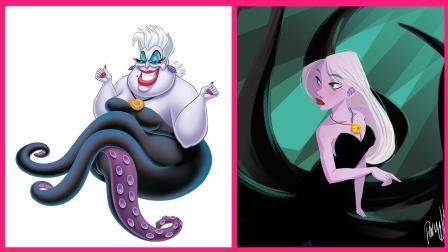 闪瞎你的眼! 迪士尼大反派都变美了, 公主们怎么办?