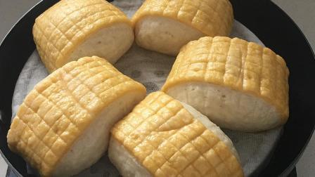 饭店阿姨这样做玉米面馒头, 蒸出来又软又香, 比面包还好吃