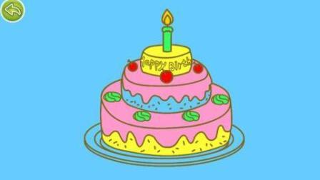 芭比梦想豪宅之小凯莉切生日蛋糕