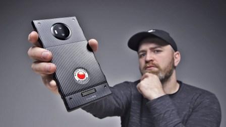 相机厂商不务正业?全息屏手机 RED Hydrogen One 开箱