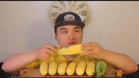 韩国吃播: donkey弟弟生吃爆浆超甜玉米