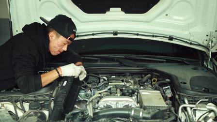 奔驰E级提升动力, 原来需要加装中冷回水壶和开电脑版