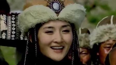 撒糖夫妇10年前视频曝光, 谢娜客串金庸剧张杰青涩开个唱
