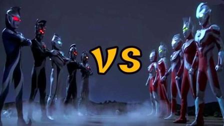 光之国VS暗之国! 奥特曼之间的对决, 你们更看好哪一方?
