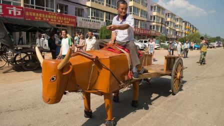"""吉林农民小学文化却造出""""木牛流马"""", 行走自如, 已获国家专利"""