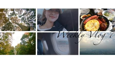 【桃毛小兽】Weekly Vlog 7 | 南京之行、爬山、首饰开箱、潮汕牛肉火锅