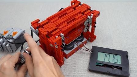 万能的乐高! 牛人用乐高制作了一台液压机
