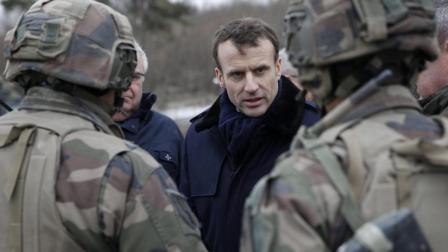 马克龙呼吁建欧洲军队, 不能光依靠美国