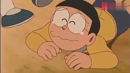 哆啦A梦: 闻到这种花的味道之后, 只要一说谎鼻子就会变长