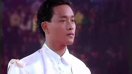 张国荣 梅艳芳最后一场演唱会上特殊画面, 相信很多人都没看到过