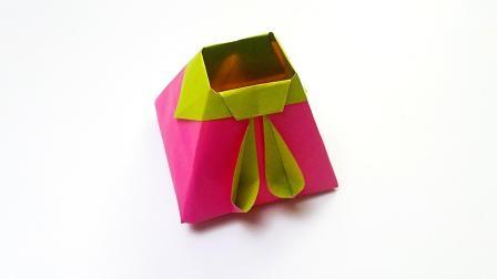 折纸王子折纸兔耳盒子