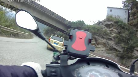 超级清晰的4k运动摄像机摩旅骑行拍摄行车画面 四寸土