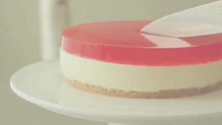 草莓果冻奶油奶酪慕斯蛋糕, 做法简单又好吃