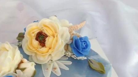 刘清烘焙学校怎么样? 看看创意韩式裱花蛋糕!