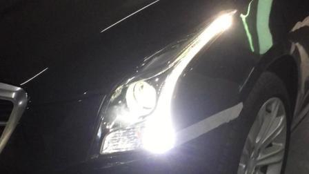广州番禺广州车灯改装海拉五双光透镜哪家比较好汽车led大灯十大排名凯迪拉克ATS改车灯