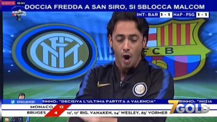 TRAMONTANA DISTRUGGE LO STUDIO AL GOL DI ICARDI ● Inter-Barcellona