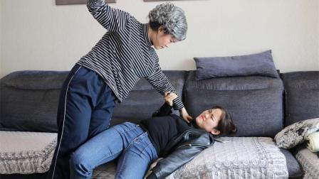 婆婆为抱孙子强迫儿媳吃酸, 得知是女儿后大怒, 儿子做法大快人心