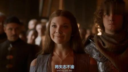 《权力的游戏》玛格丽要成为王后, 珊莎的表情揭露乔佛里为人