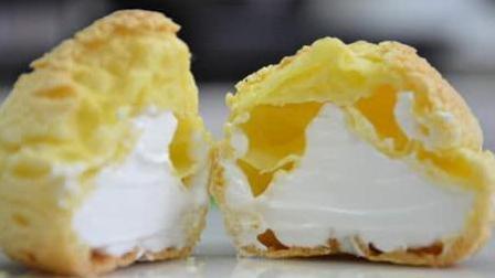 泡芙最好吃做法, 一口下去松软香甜, 吃1盘都不过瘾, 做法也简单