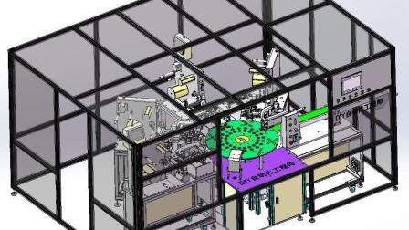 结构复杂的贴膜机