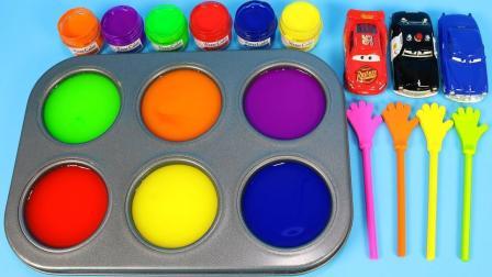 我爱涂鸦别错过宝宝绘画萌芽期, 早教启蒙萌宝给汽车着色识颜色啦!