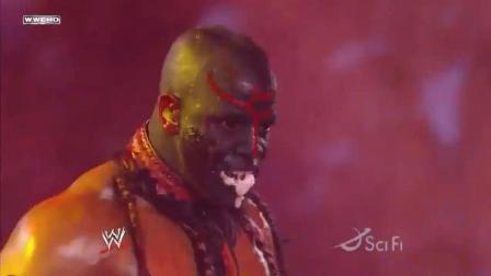wwe西蒙斯 保罗勃丘大战WWE最恐怖恶心的食虫人 饭前不要看噢